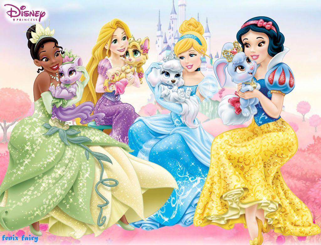Disney Princess Wallpaper Palace Pet by fenixfairy (With