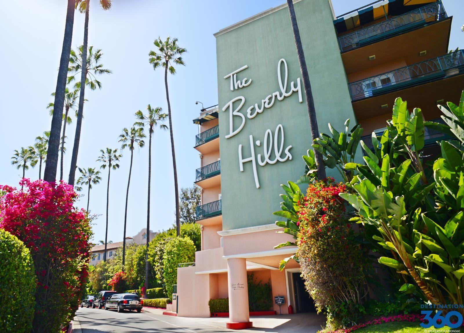 Beverly Hills Hotel On Sunset Boulevard