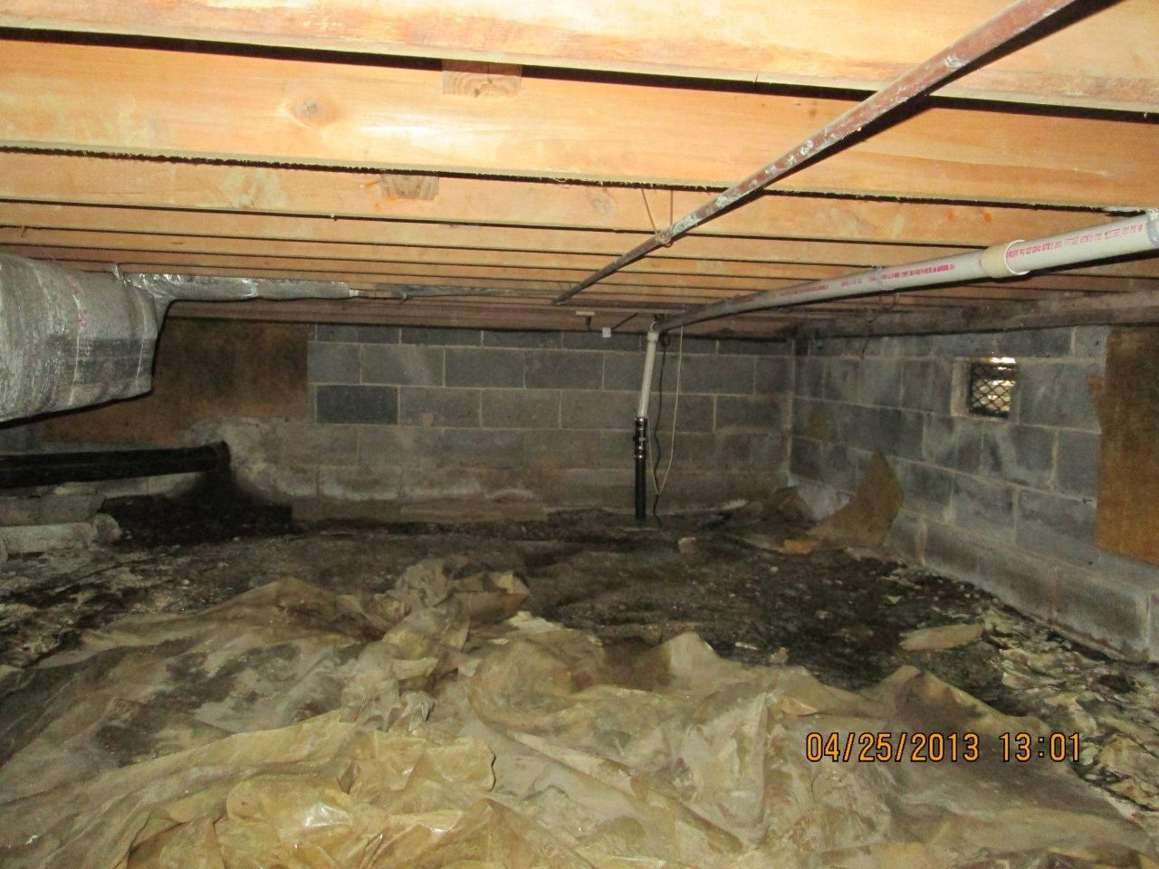 Water damage in crawl spaces can lead to mold and termites ...