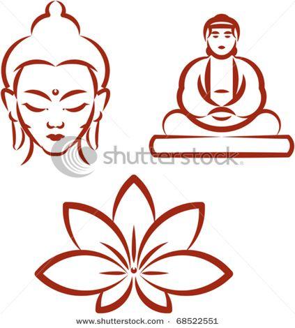 Buddha Lotus To Draw Buddha Drawing Buddha Art Buddhism Symbols