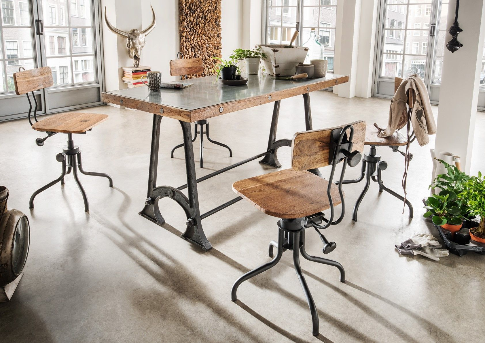 Industrial Style Möbel Stuhl Im Industrialstyle In 2019 Industrial Style Furniture