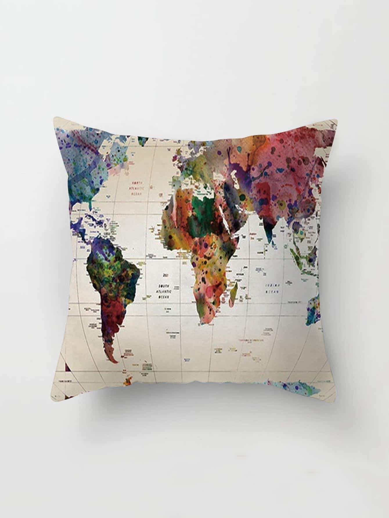 Map Print Pillowcase Cover  9.00  homefurnishings  decor  homedecor   furniture  furnishings  home 001d9ac89f
