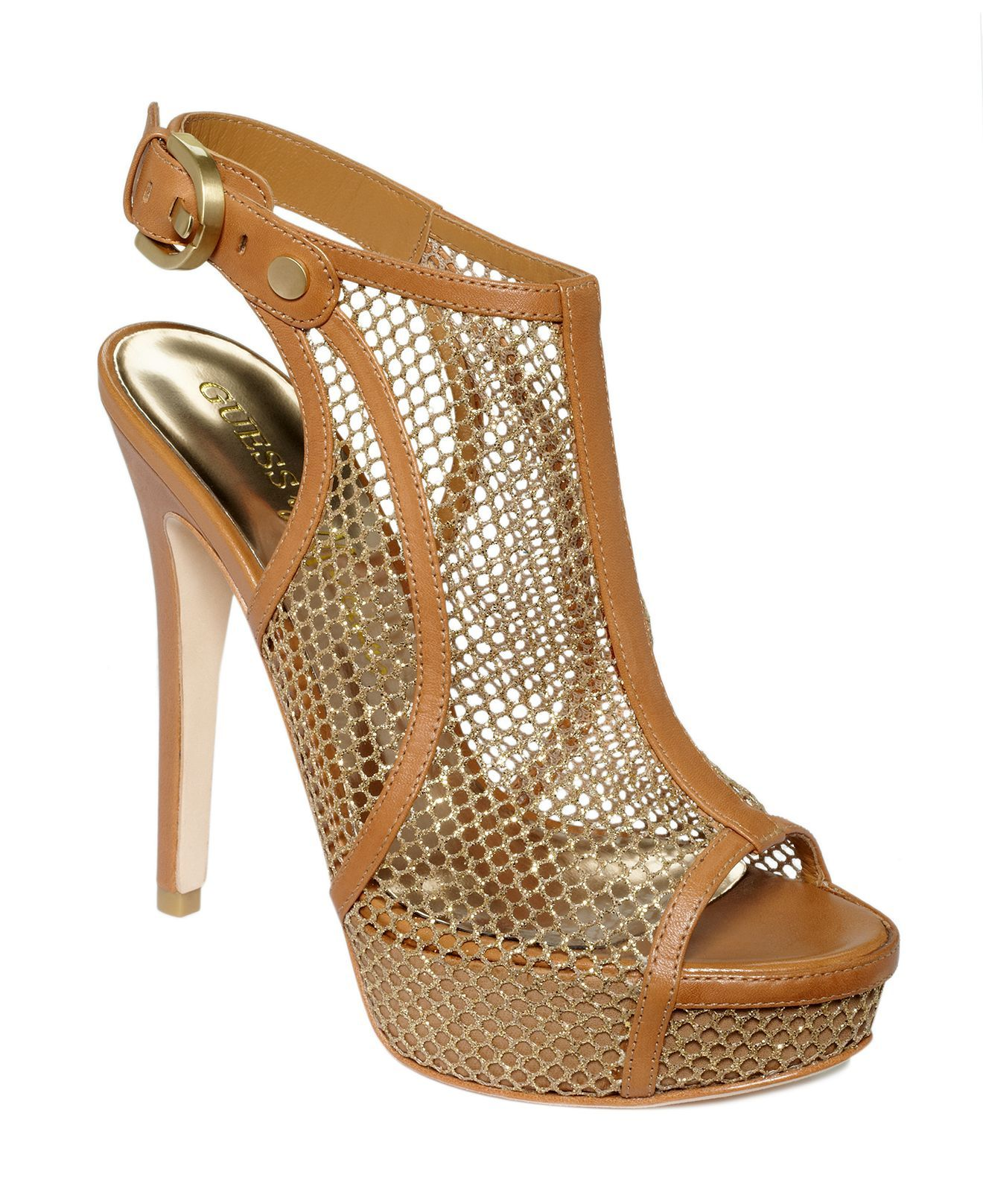 GUESS BY MARCIANO Sandals Light brown Women