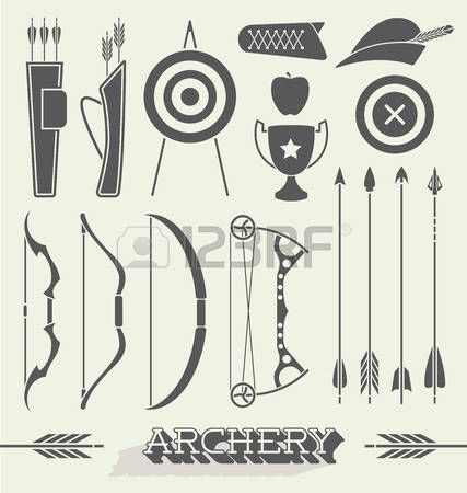 Archery Cliparts Stock Vector And Royalty Free Archery