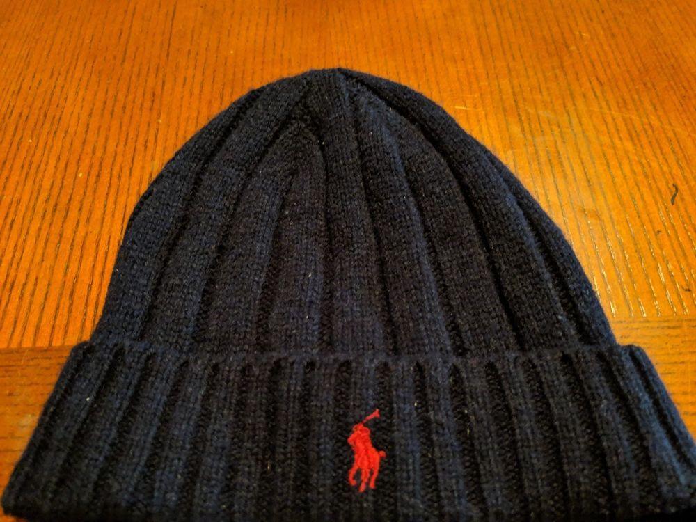 112f0f7223c Polo Ralph Lauren Men s Signature Merino Wool Beanie Winter Hat Cap Navy   fashion  clothing  shoes  accessories  mensaccessories  hats (ebay link)