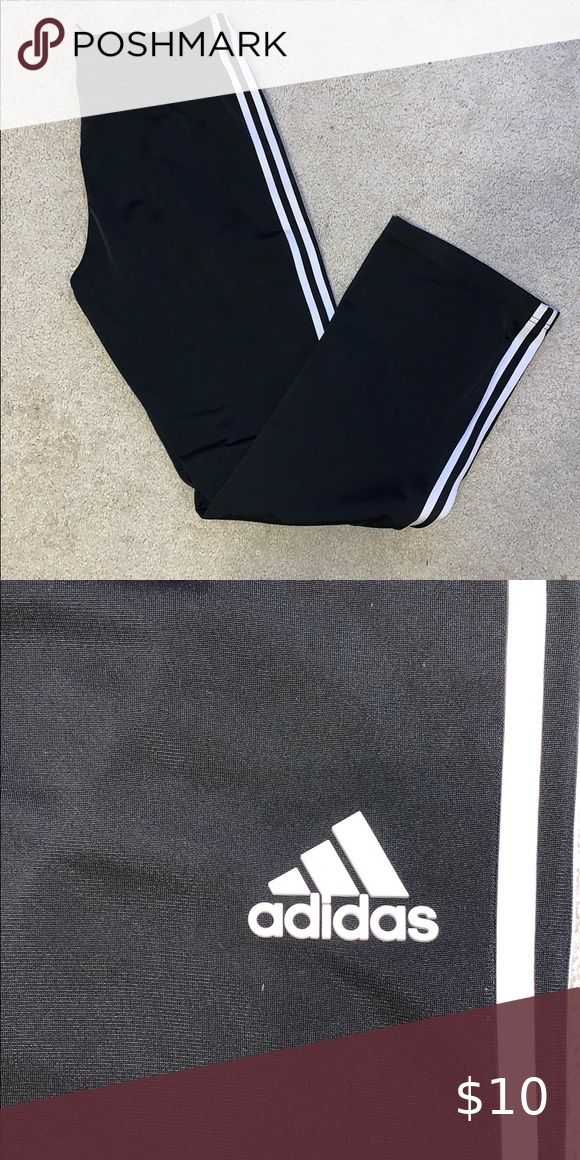 Adidas track pants Barely worn no pulling or pilling adidas Pants Track Pants &#design #model #dress #shoes #heels #styles #outfit #purse #jewelry #shopping #glam #love  #amazing  #style  #swag