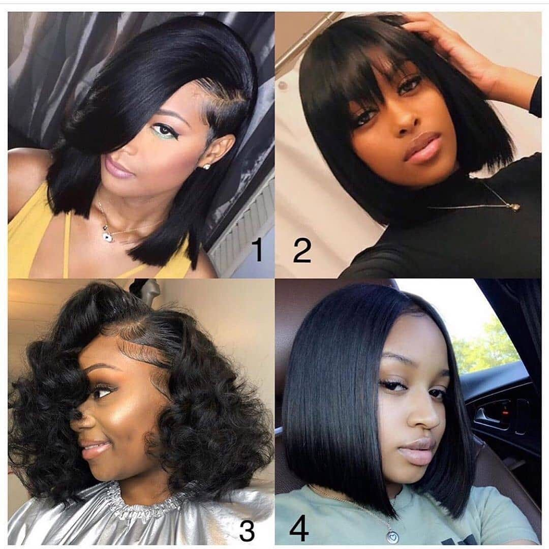 Bob Short Straight Hd Swiss Lace Front Human Hair Wigs Natural Color Virgin Hair Lace Frontal Wig Free Shipping Virgin Hair Wigs Human Hair Wigs Quick Weave Hairstyles