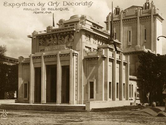 Belgian pavilion exposition internationale des arts decoratifs et industriels modernes paris - Les arts decoratif paris ...