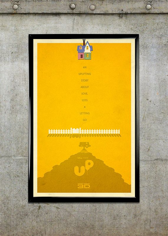 Up 11x17 Movie Poster | Disney, X movies and The o'jays