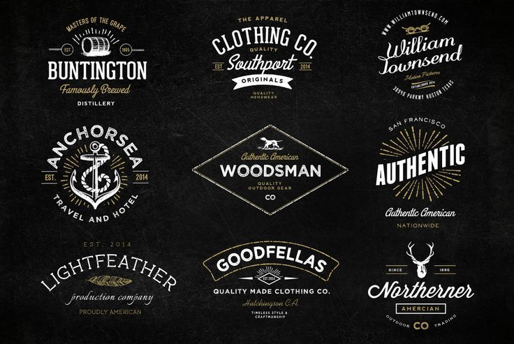 17 Best images about Logos and branding on Pinterest | Vintage ...