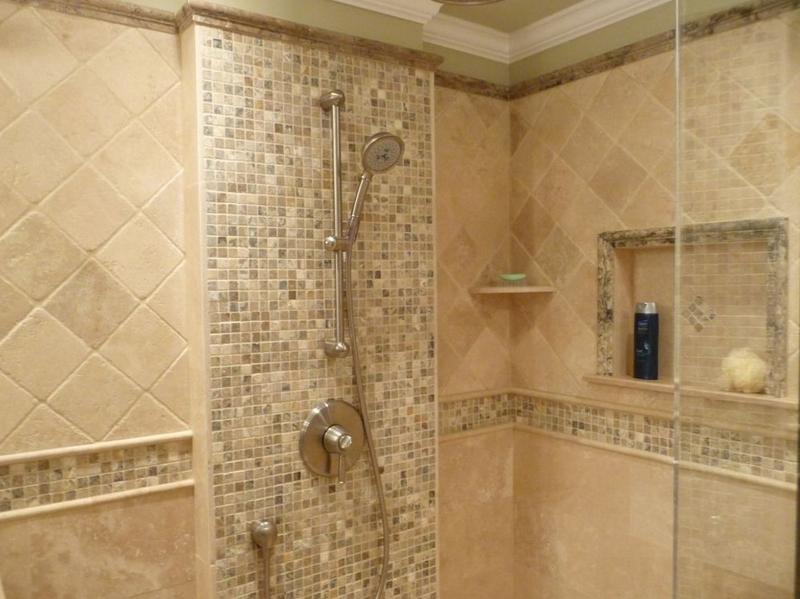 philadelphia travertine  bathrooms  google search
