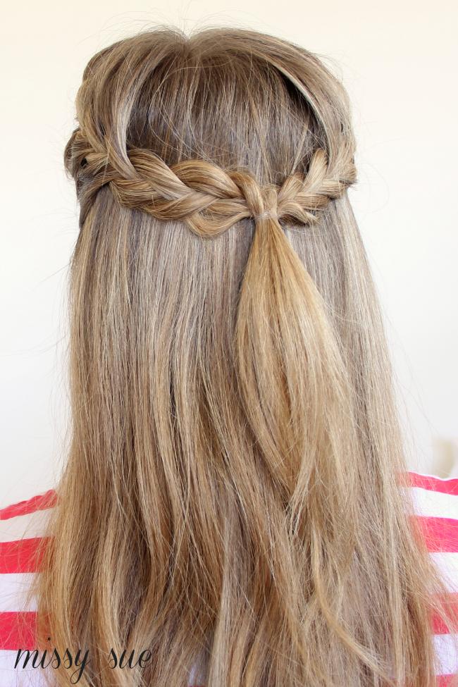 Braid 11-Half Up French Braids | Lovely Locks | Pinterest ...
