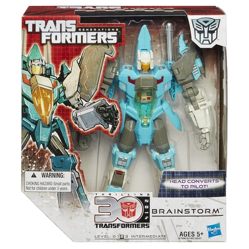 Transformers generations voyager action figure brainstorm action