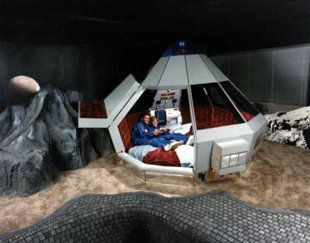 This Suite At The Fantasuite Hotel In West Bend Wisconsin May Be More Intended For S Living Out Some Kind Of Lunar