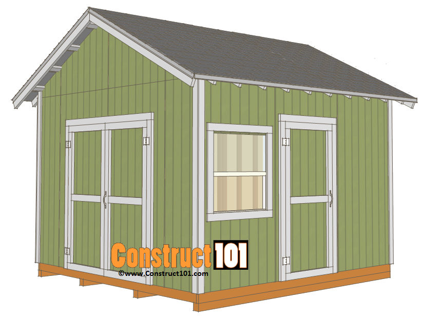 12x12 Shed Plans Gable Roof Deck Roofinghowto Diy Shed Plans Building A Storage Shed Outdoor Storage Sheds