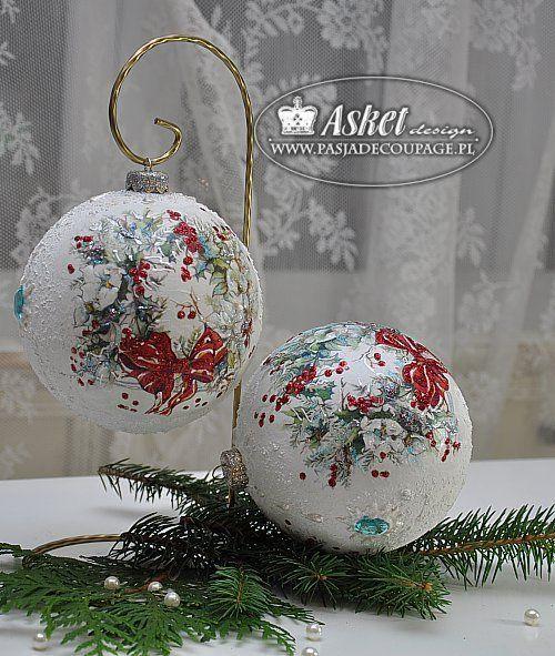 bombka_wianek (500x591, 89Kb) Christmass ideas Pinterest