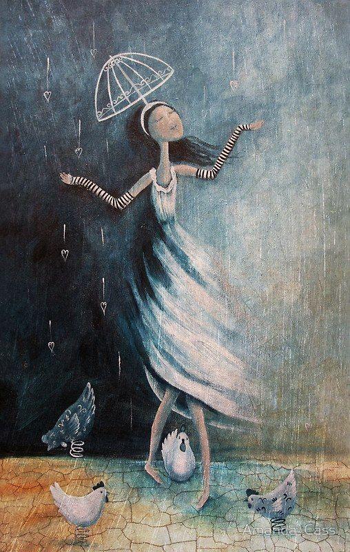 Аманда Касс: красивые картинки про любовь   Иллюстрации ...