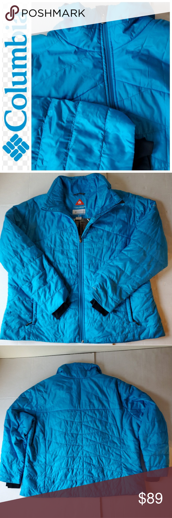 Columbia Omni Shield Heat Puffer Jacket Coat 3xl Puffer Jackets Jackets Coats Jackets [ 1740 x 580 Pixel ]