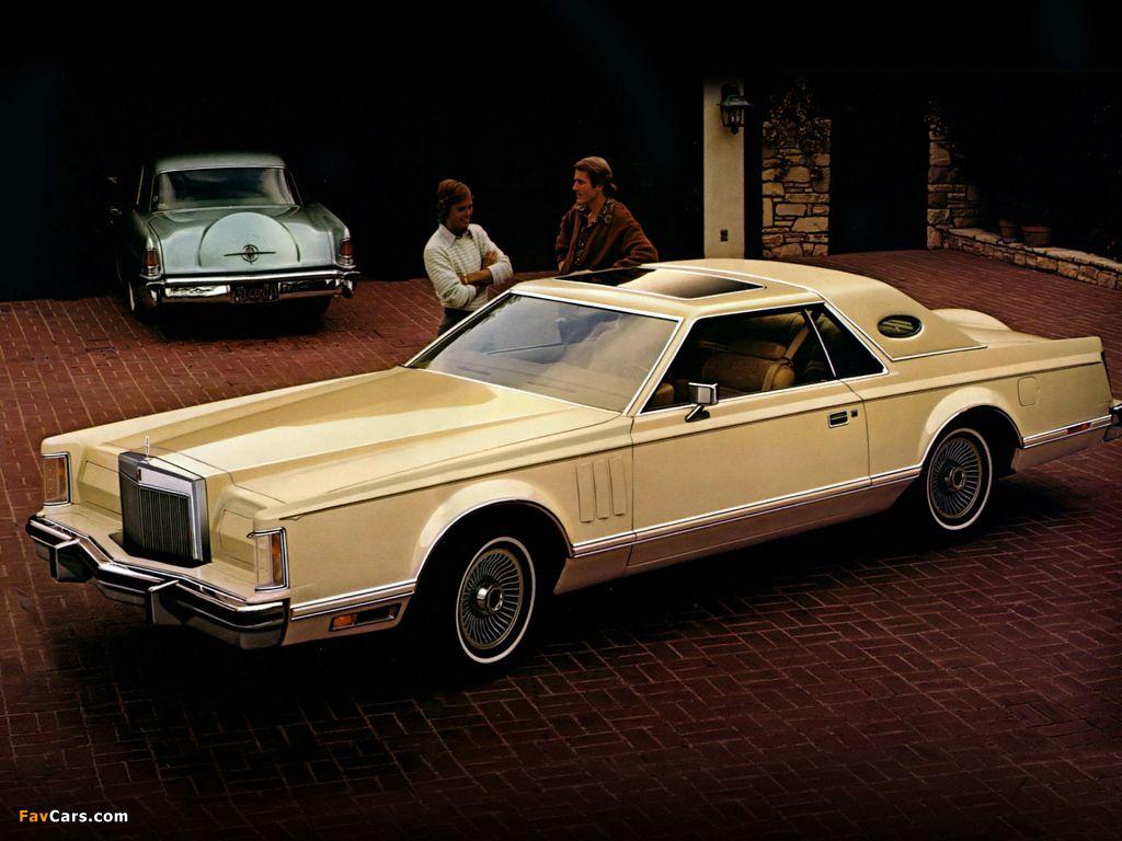 1977 Lincoln Continental Mark V Cartier Edition   Lincoln Mark 77 78