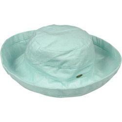 Women's Cotton Wide-Brim Hat