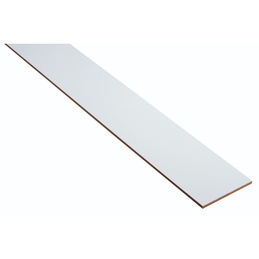 20.00 Kick Plate For Cabinets, Diamond NOW Arcadia 96 In X 4 In White  Cabinet Toe Kick