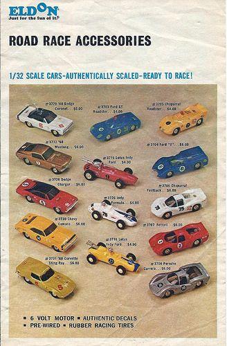 Eldon slot cars