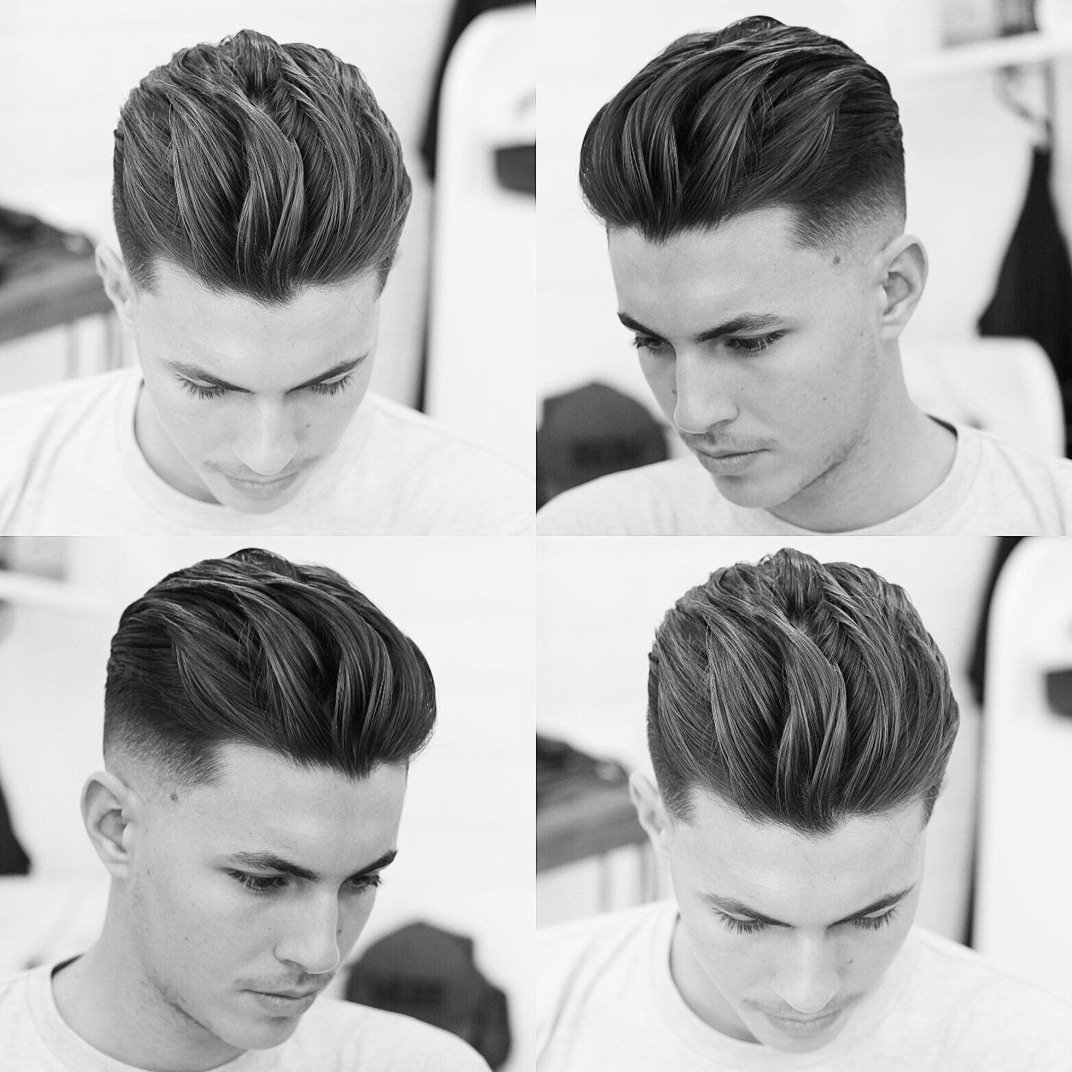 Pinterest: @hnnhBY  Long textured hair, Mid fade haircut, Boys