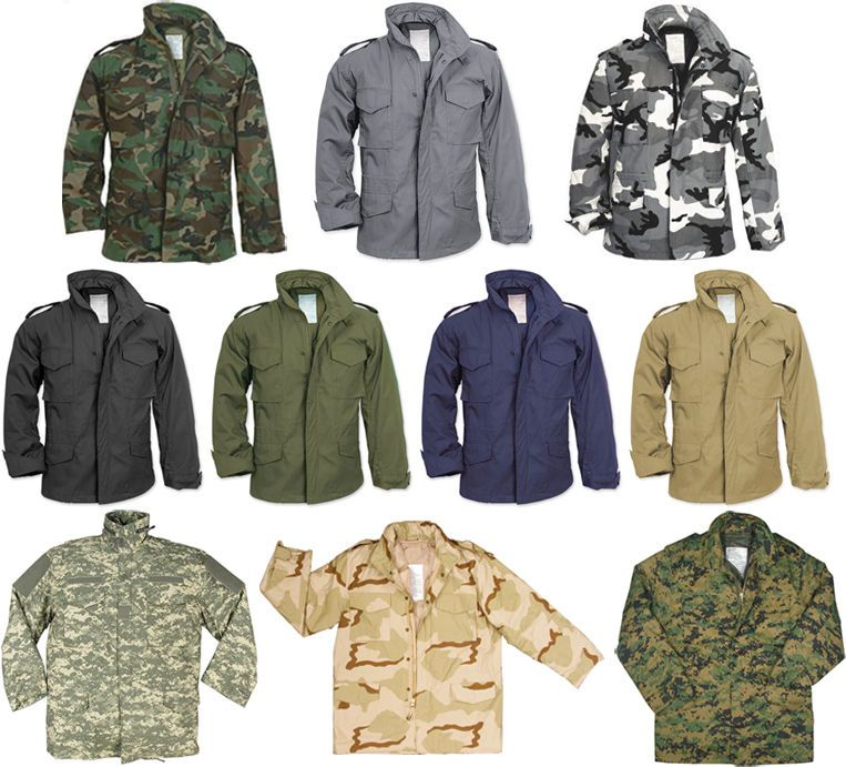 Army Universe Camouflage Military M-65 Field Coat Army M65 Jacket   M-65Jacket   FieldJacket  MilitaryCoat  WarmWinterJacket  MensCoats 2e6214c49fd