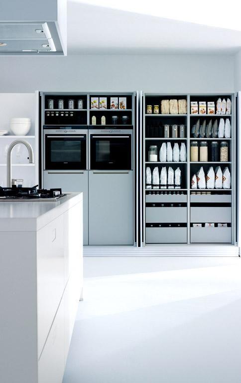 Mehr Stauraum für Küchen: Taschentüren \