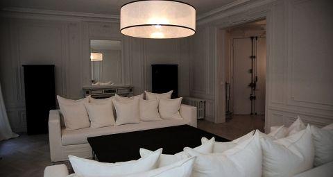 Salon d\'un grand appartement haussmanien   Decors   Pinterest ...