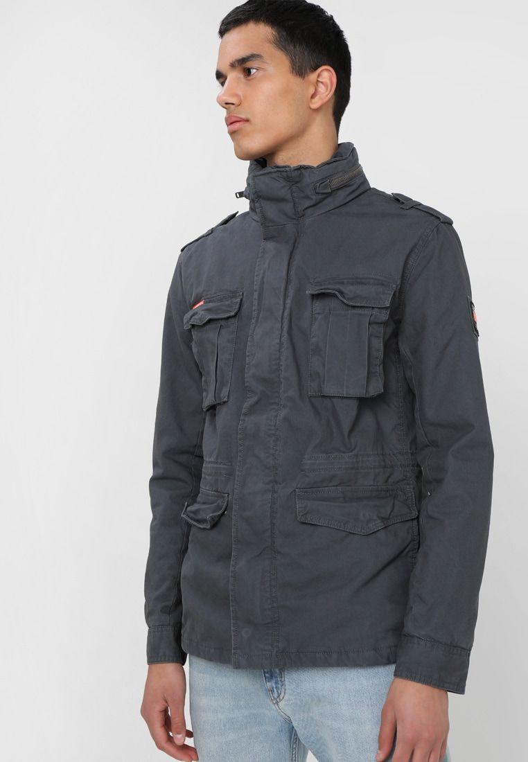 Field Jassen Pinterest Korte Grey Jacket Carbon aw8Fqqt70
