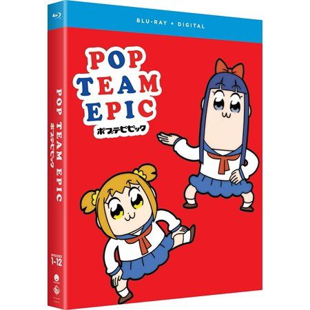 Pop Team Epic: Season One Blu-ray + Digital