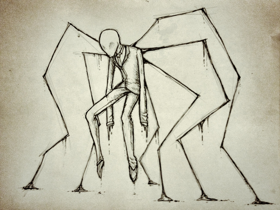 a very slender man by Eigth-Reaper. I like this. But I may have to ...