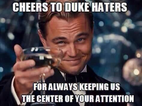 We Love Our Haters Go Duke Leonardo Dicaprio Funny Stalker Quotes Funny Quotes