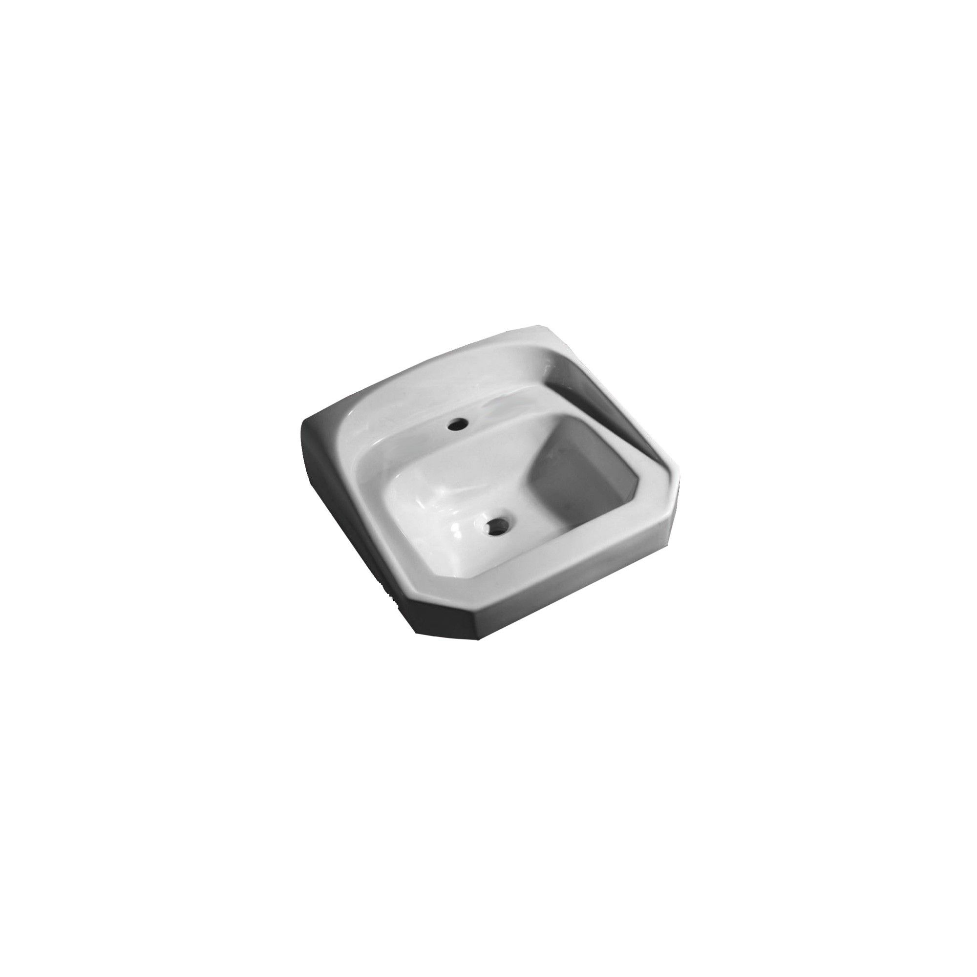 Proflo Pf5511 21 Wall Mounted Bathroom Sink White In 2019