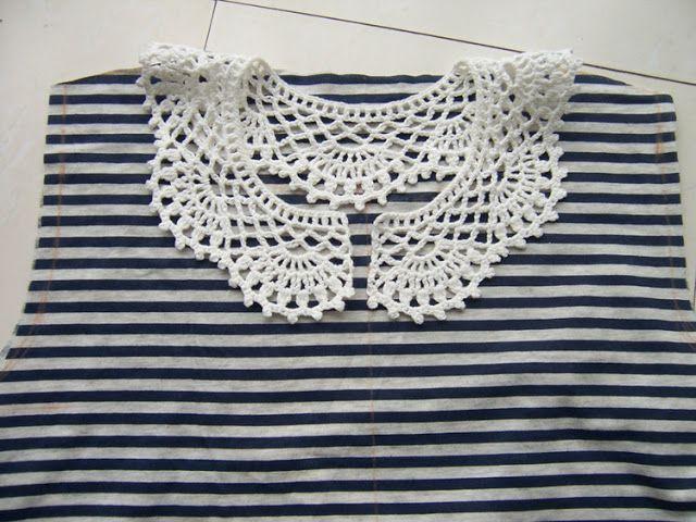 Cuellos Sueltos de Crochet - Patrones Crochet | proyectos crochet ...