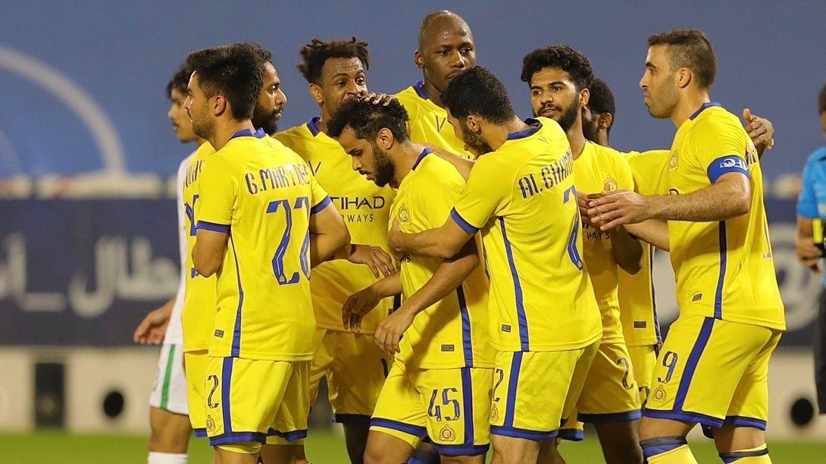 تشكيلة النصر ضد القادسية في الدوري السعودي للمحترفين Football Sports Jersey Jersey