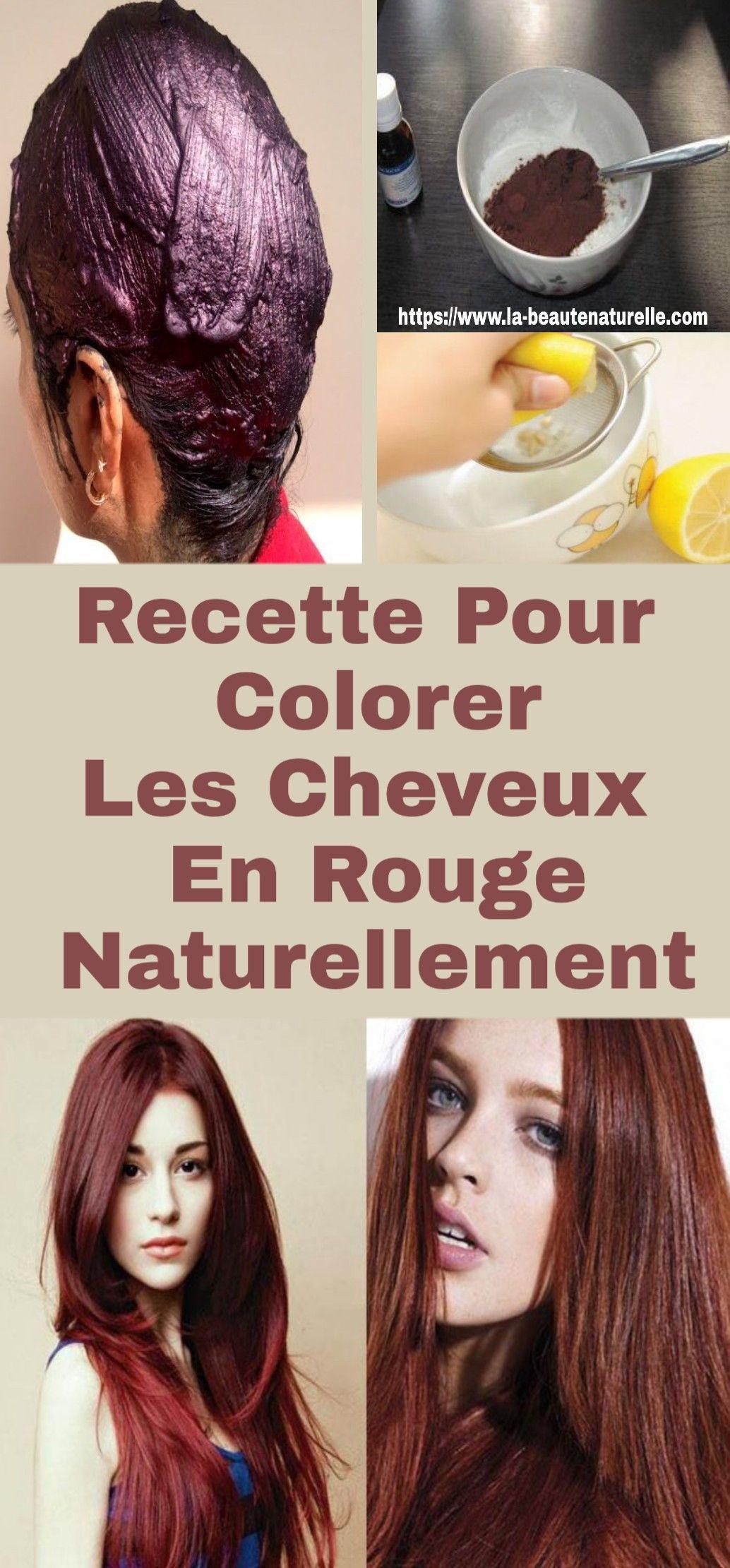 Eclaircir ses cheveux rouge naturellement