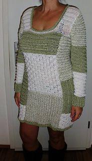 Winter Patchwork Kleid Häkelkleider Selbst Gemacht