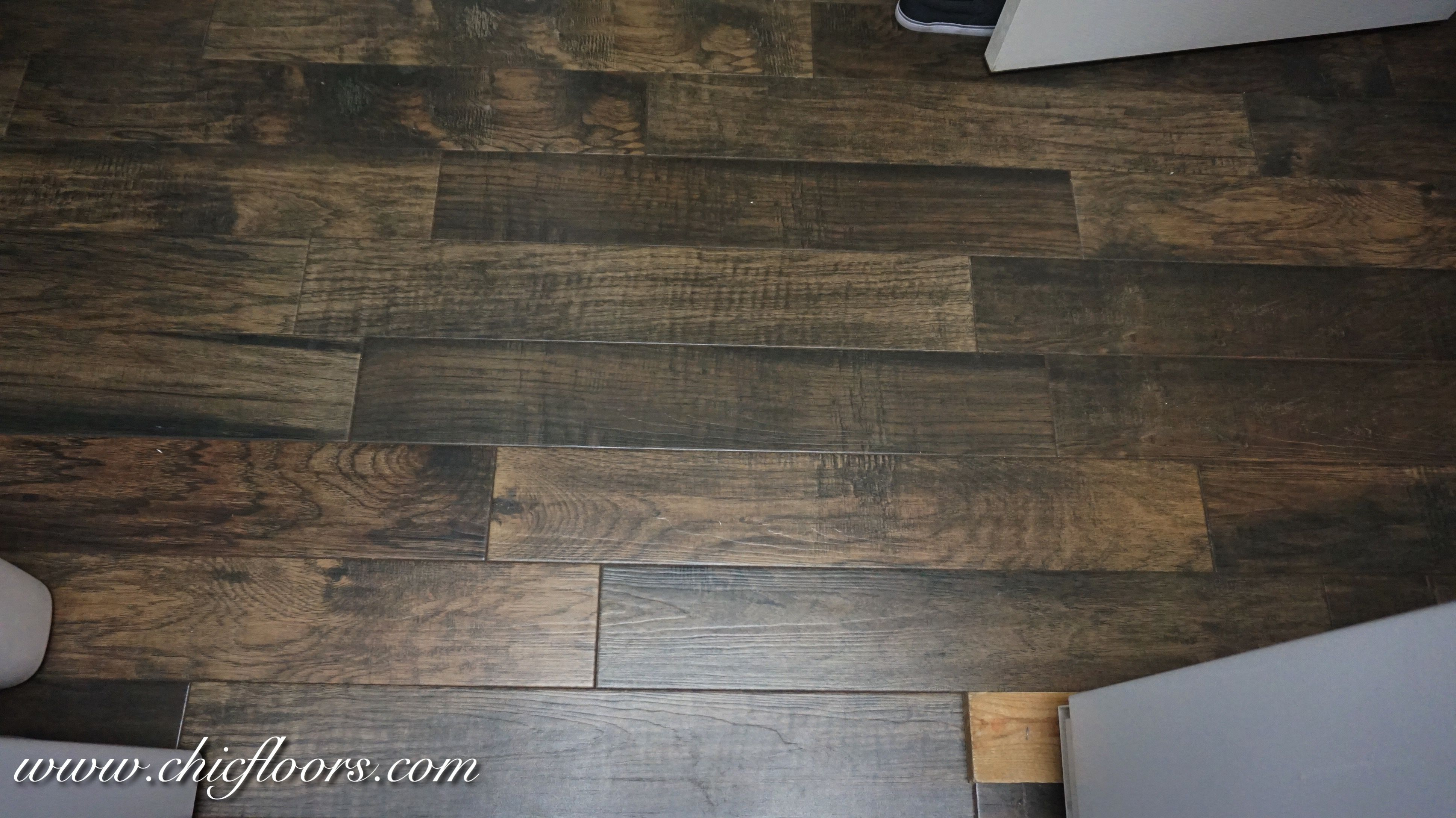 Beautiful Wood Look Tile By Shaw Hacienda Color Walnut Our