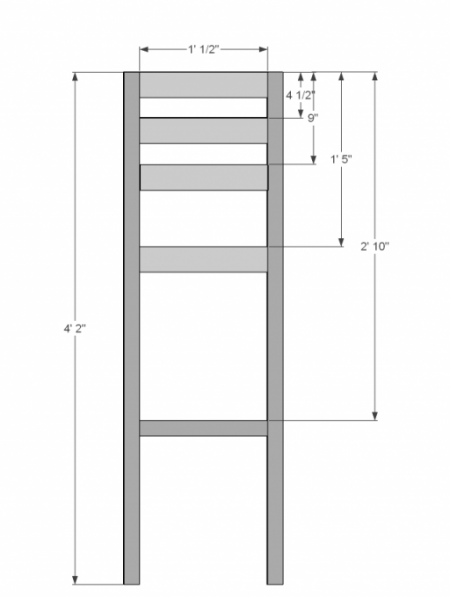 DIY Counter Height Bar Stool Plan and Guide DIY  : 304a7f08a6296da6f6d332d76bdb1737 from www.pinterest.com size 450 x 597 png 56kB