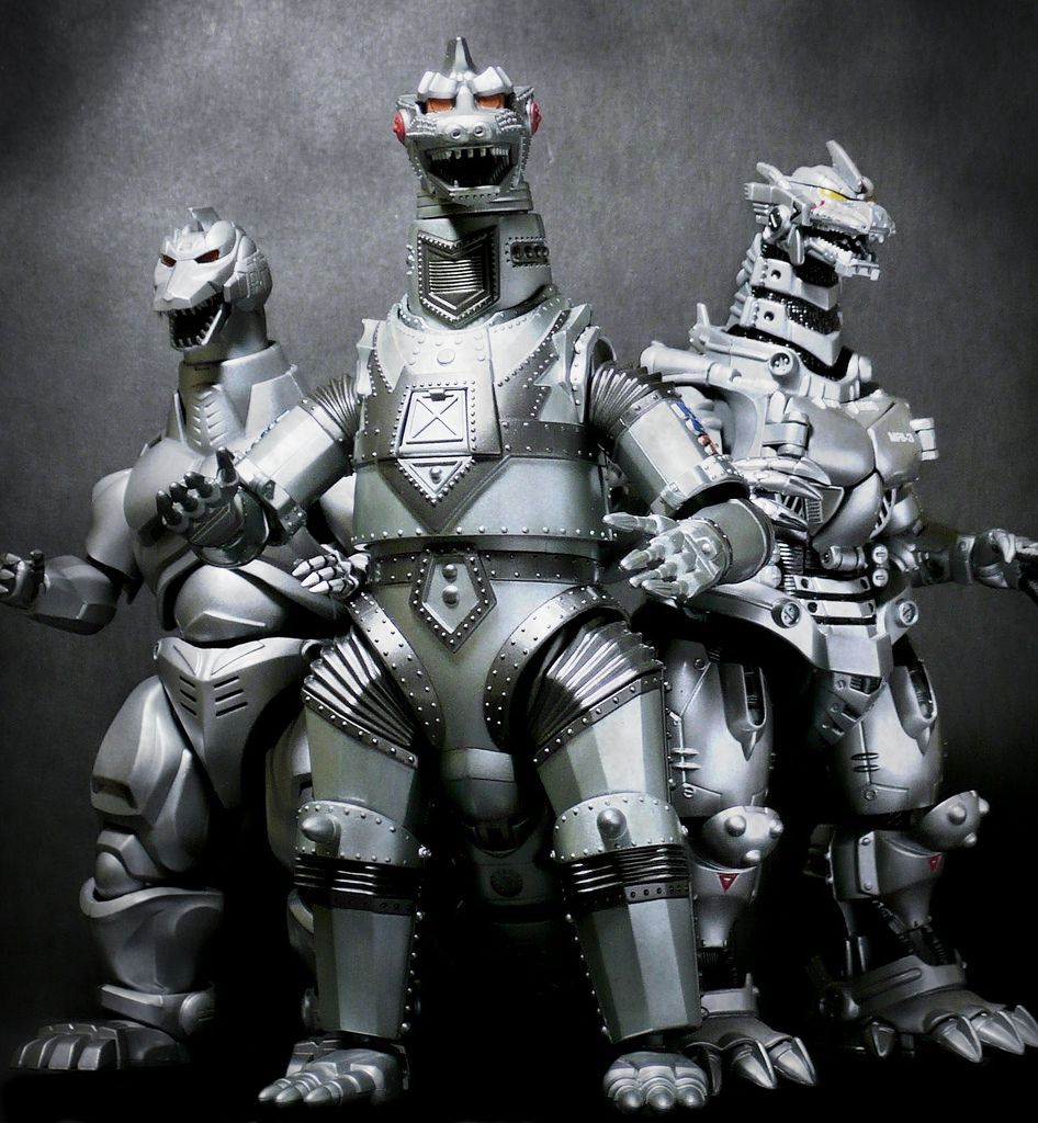 MechaGodzilla family!