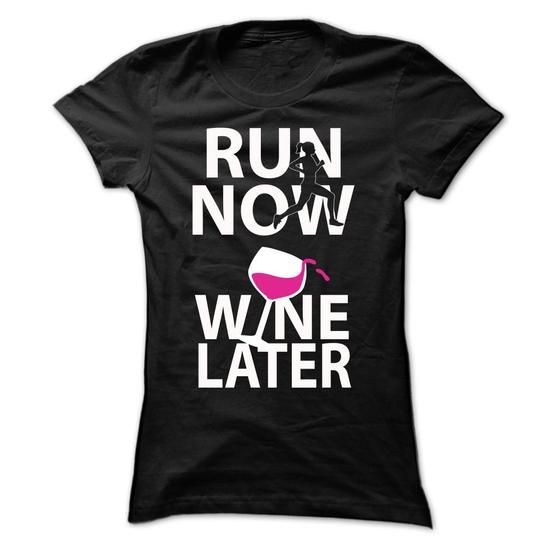 Run Now Wine Later #Wine
