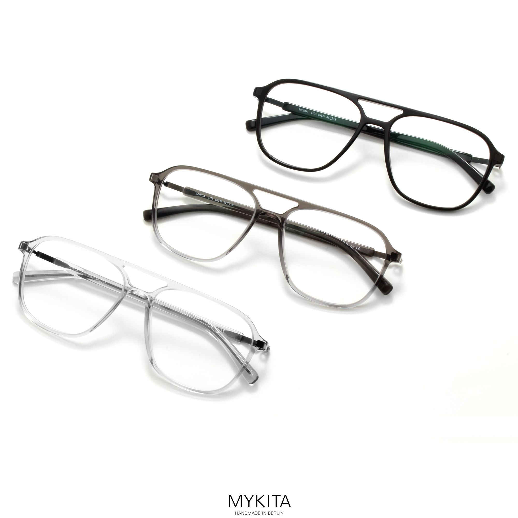 8d0171a699 The MYKITA    GYLFI is a material mix where the warmth of an aviator shaped
