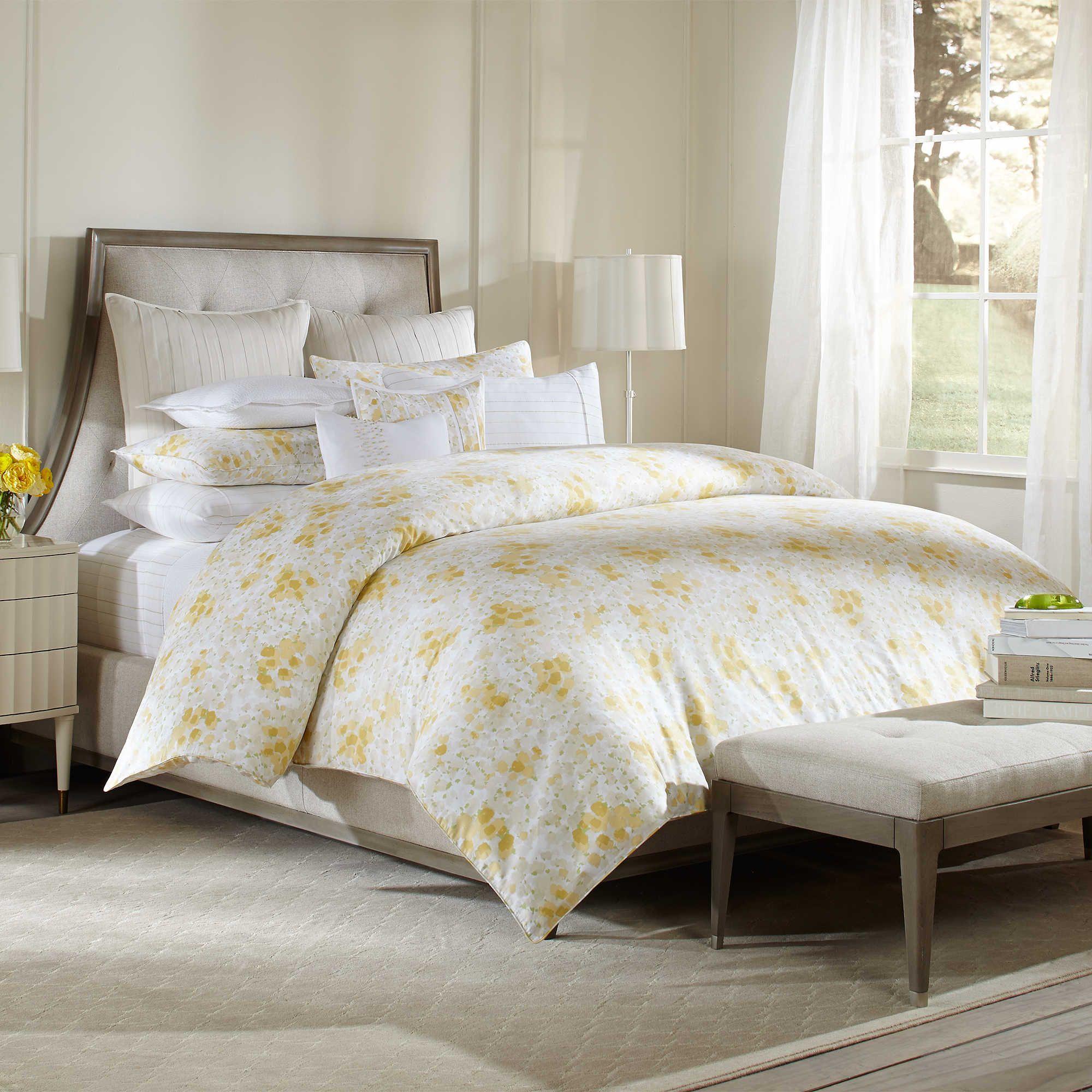 dot and yellow pin polka grey cover duvet cases bedding set pillow