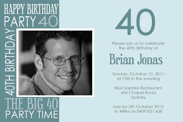 Awesome free template 40th birthday party invitations wording baby awesome free template 40th birthday party invitations wording filmwisefo