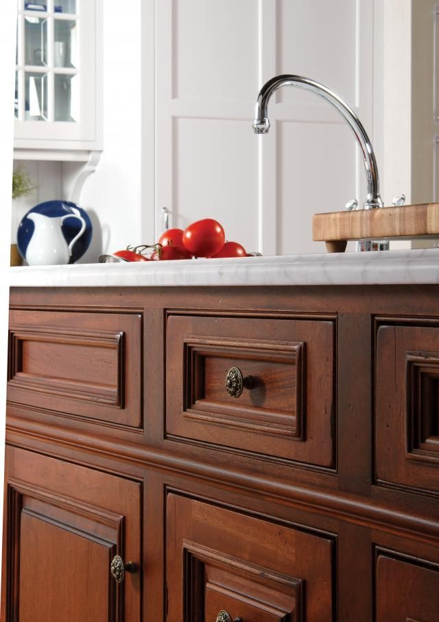 Plato Woodwork Mahogany Cabinets Available Through The Kitchen Works