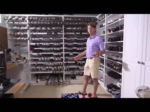 Golf Com Inside Brad Faxon S Workshop Shop Layout Golf Workshop
