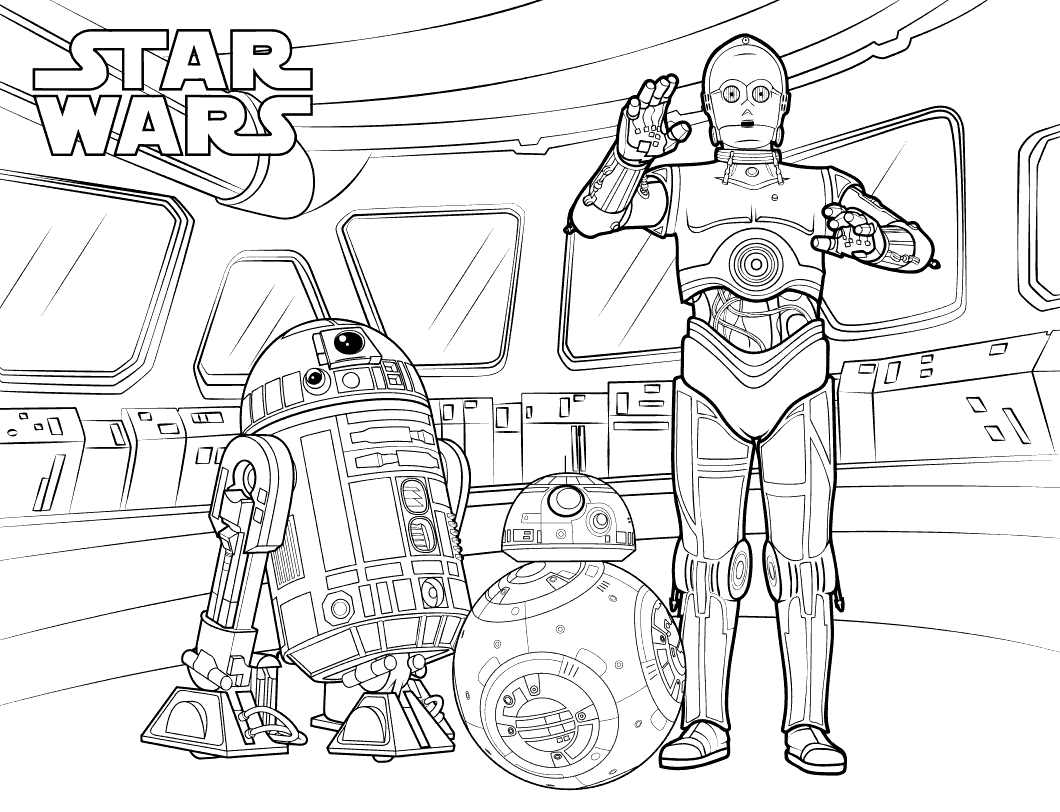 C3PO Coloring Pages Best Coloring Pages For Kids in