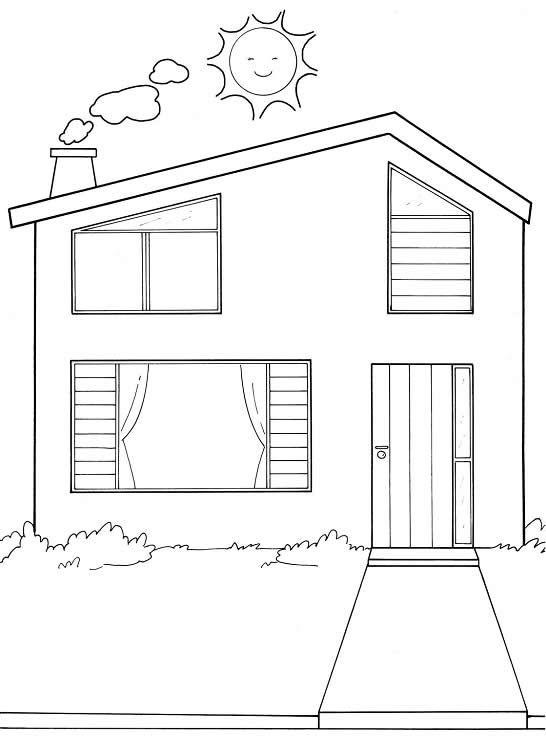 Pin de diana g en ba o diagram y floor plans for Fachadas de casas modernas para colorear